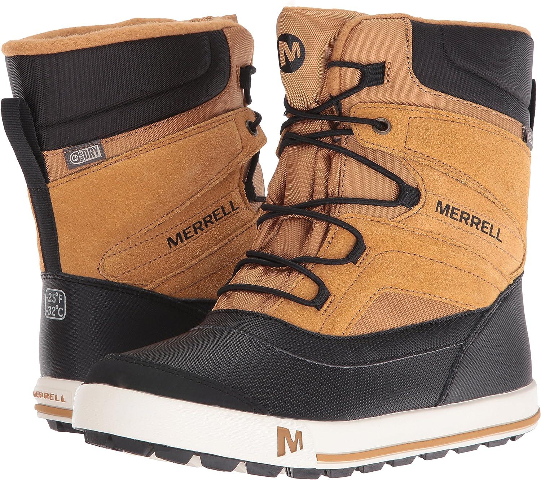 Chaussures de Randonn/ée Hautes Mixte Enfant Merrell Snow Bank 2.0 WTRPF