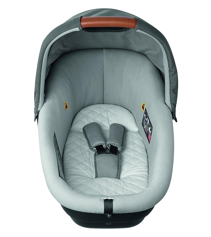 Bébé Confort AMBER - Cuco de seguridad, grupo 0 (0-10 kg), 0-6 meses aprox, color earth brown