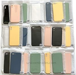 Unicorn Trade (50-Packs) Phone Cases for Apple iPhone 7/8, 7/8 Plus, X/Xs, XR, 11, 11 Pro, 11 Pro Max (Mix Lot) Professional Soft TPU Thin Matte Case Cover Wholesale Bulk Lot