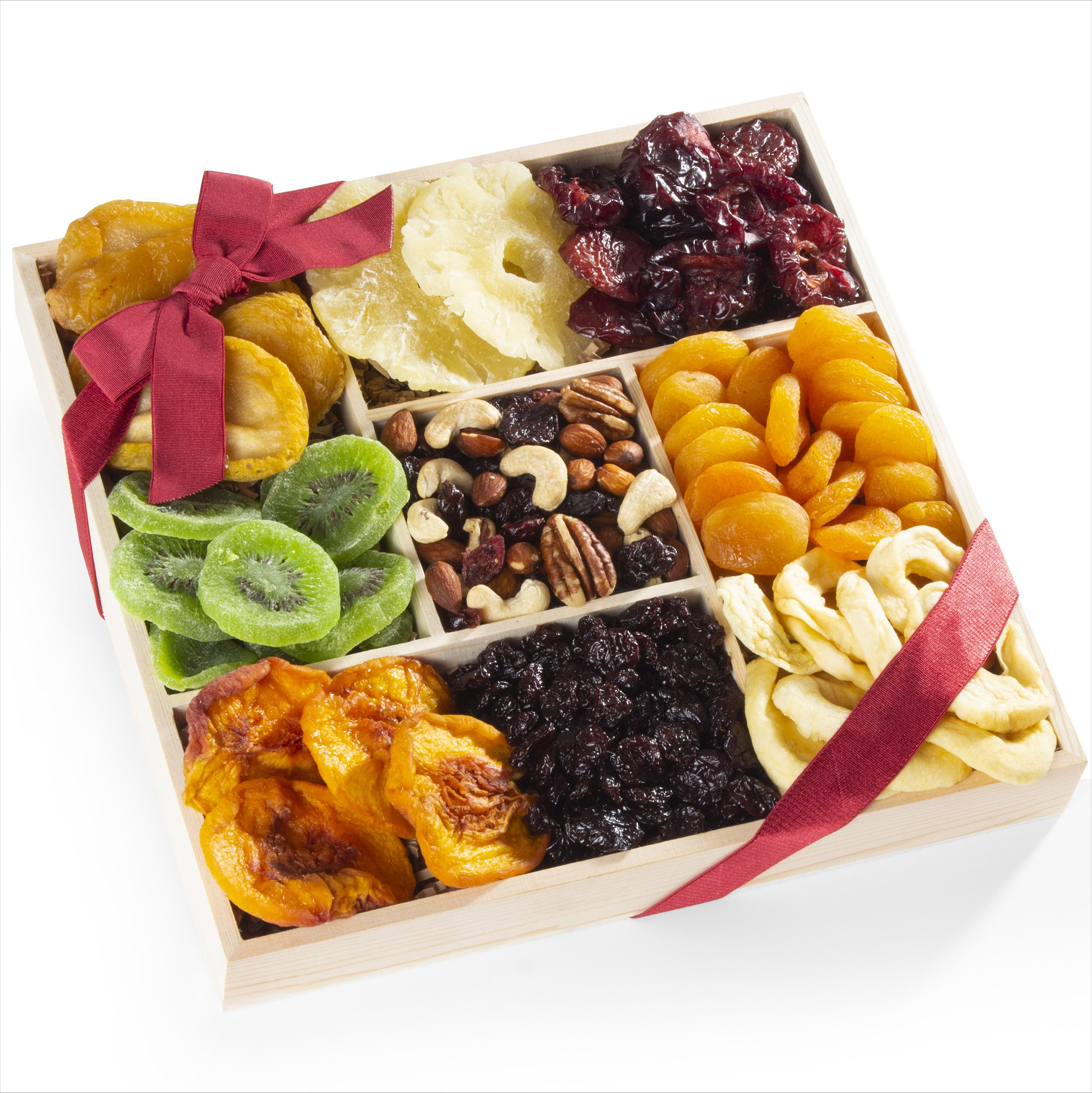 Dried Fruit & Trail Mix Snack Gift Tray