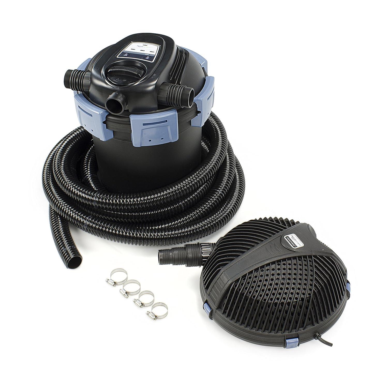 Aquascape 95059 Ultraklean 2500 Filtration Kit For Pond External Filter And Water Features Equipment Garden Outdoor