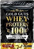 GOLD GUTS ゴールドガッツホエイプロテイン100 ココア味 360g