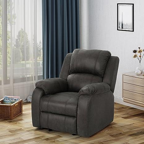 Amazon.com: Michelle deslizamiento de tela clásico sillón ...