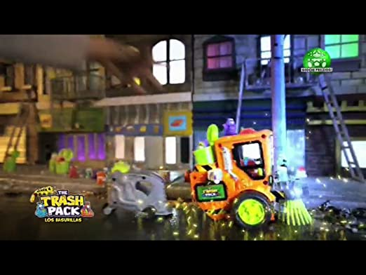 Giochi Preziosi Los basurillas - Limpiadora de calles y 2 figuras 21722: Amazon.es: Juguetes y juegos