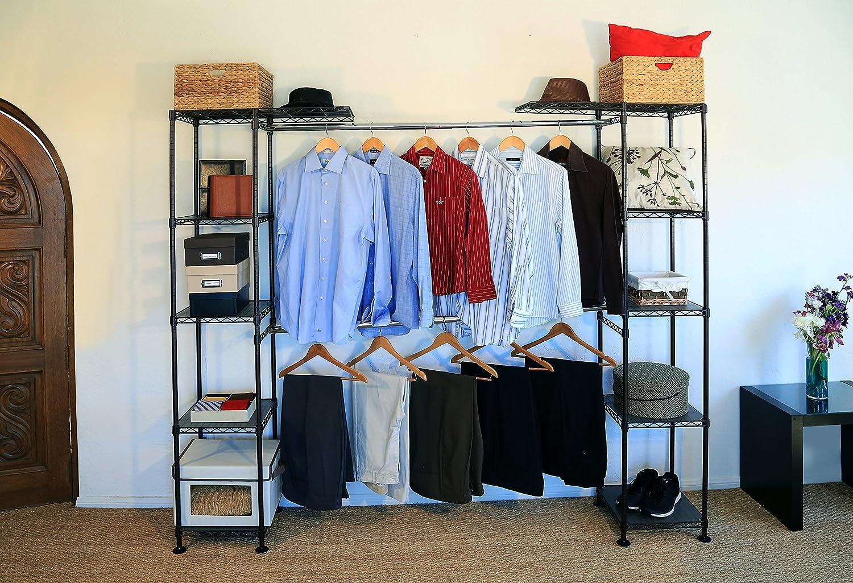 Seville Classic Closet Organizer Expandable System