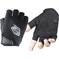 Seibertron Men's/Women's Half Finger/Fingerless Cycling MTB Gloves Road Racing Bicycle Gloves Biking Gloves Gel Pad…