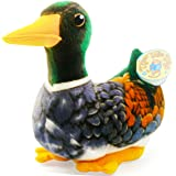 Malloy the Maine Mallard | 12 Inch Large Green Duck Stuffed Animal Plush | By Tiger Tale Toys