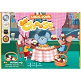 Logic Roots Say Cheese Multiplication Game - Fun Math Board Game for 7 - 10 Year Olds, Easy Start Advanced STEM Toy, Perfect