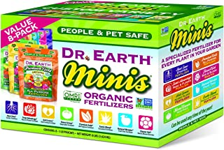 product image for Dr. Earth MINIS - Certified Organic Fertilizers Variety & Value (8-Pack)