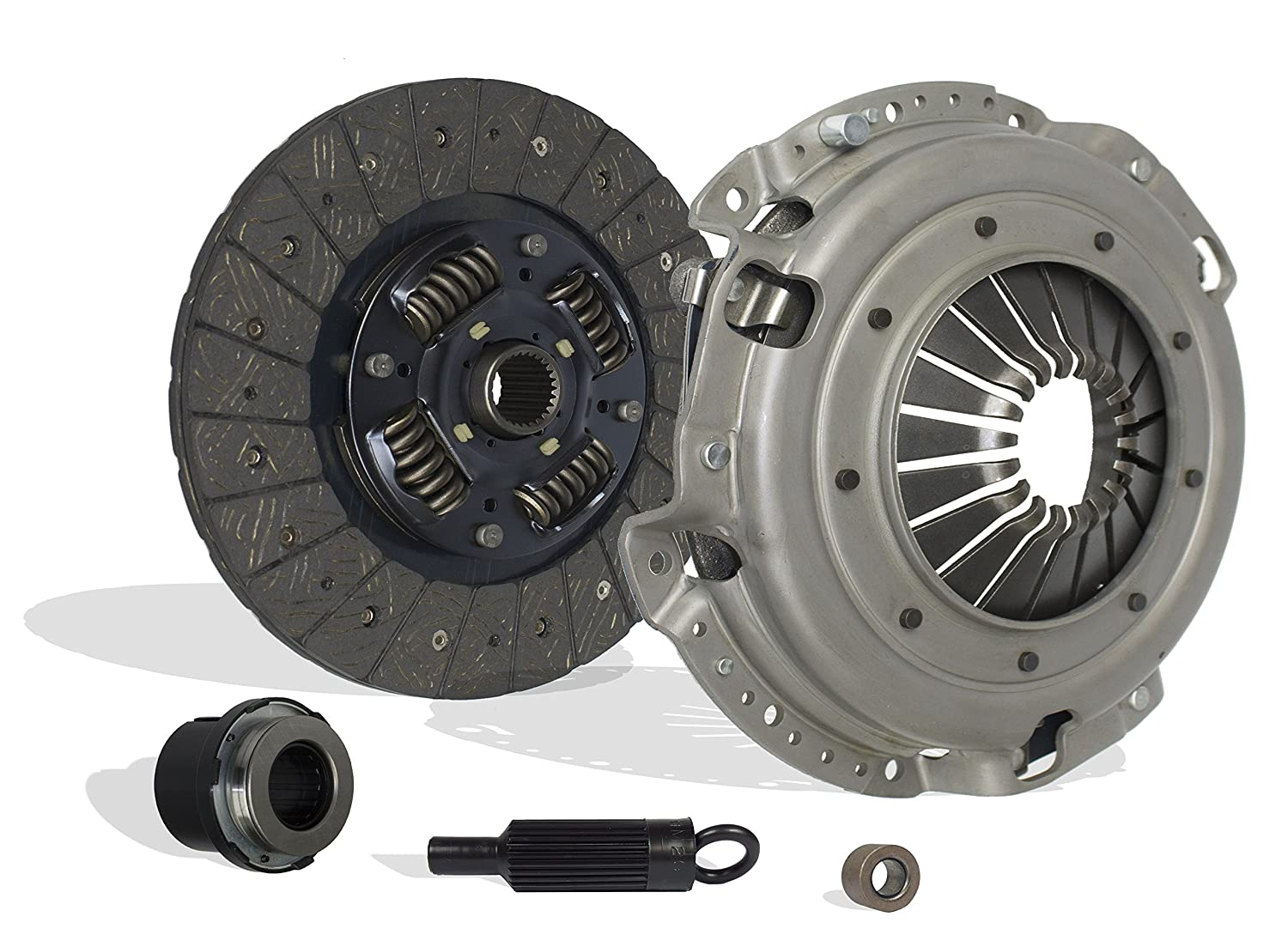 Clutch Kit Works With Chevrolet Camaro Pontiac Firebird Base RS Coupe Convertible 2-Door 1996-2002 3.8L V6 GAS OHV Naturally Aspirated