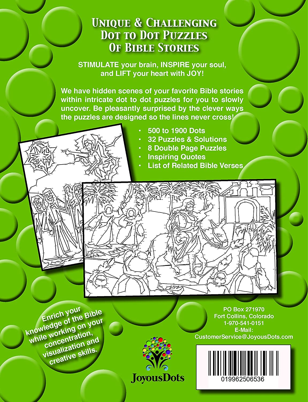 Amazon.com: Joyous Dots New Testament Dot to Dot Intricate Series ...