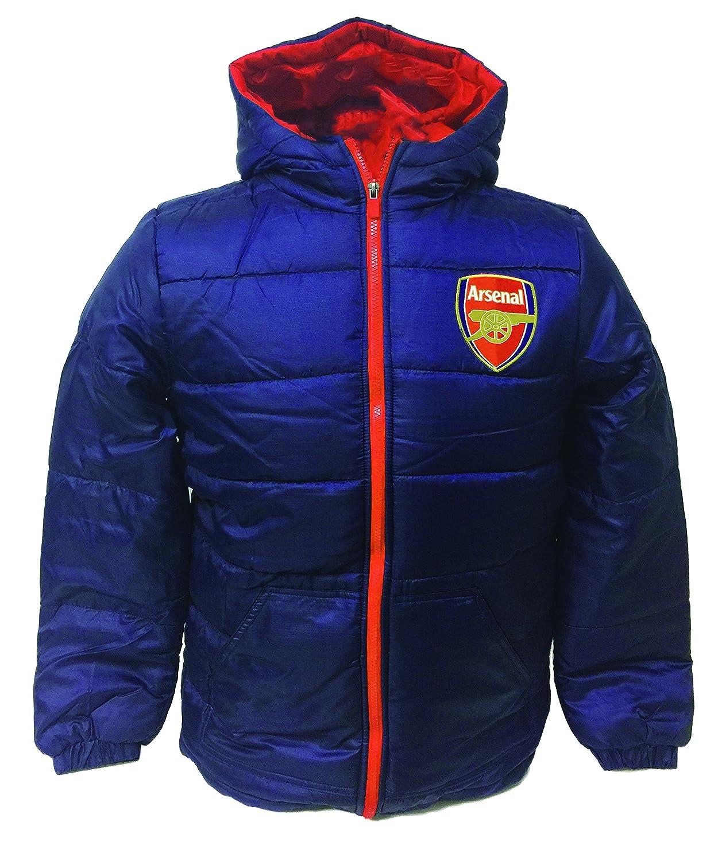 アーセナルジャケットポリフィルパッド入り、大人、子供用、公式アーセナルジャケット B01N052IPQ Adult Medium