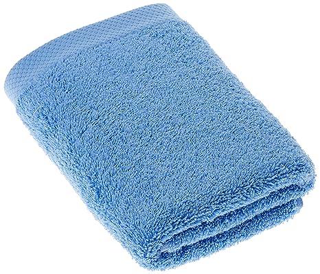 Lasa Home Toalla, algodón, Blue, 50 x 100 x 1 cm