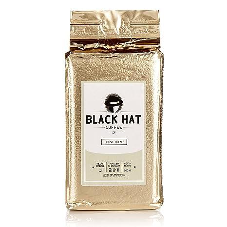Black Hat Coffee House Blend - mehr als ein Premium-Kaffee - 500g ...