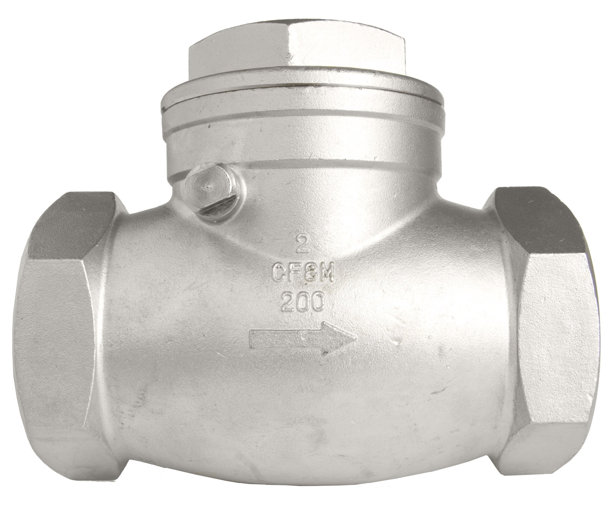 2'' Stainless Steel (316) Swing Check Valve - 200WOG