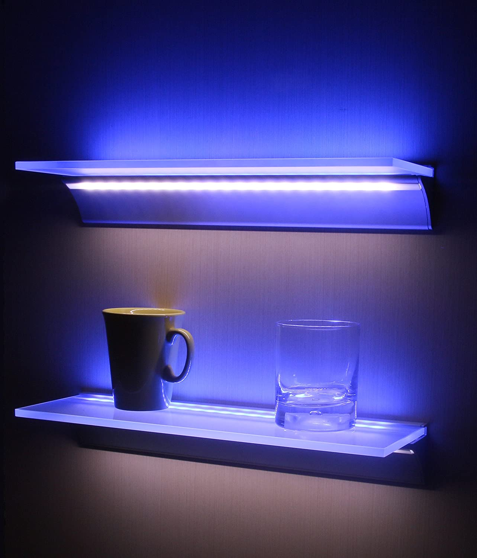 912qZS5RsGL._SL1500_ Stilvolle Wandregal Mit Led Beleuchtung Dekorationen
