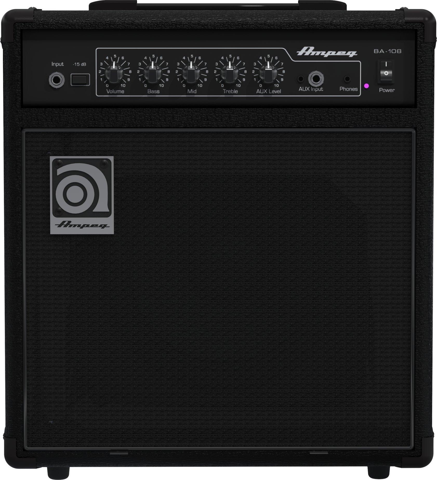 Ampeg BA108V2 20-Watt 8'' Bass Combo Amplifier