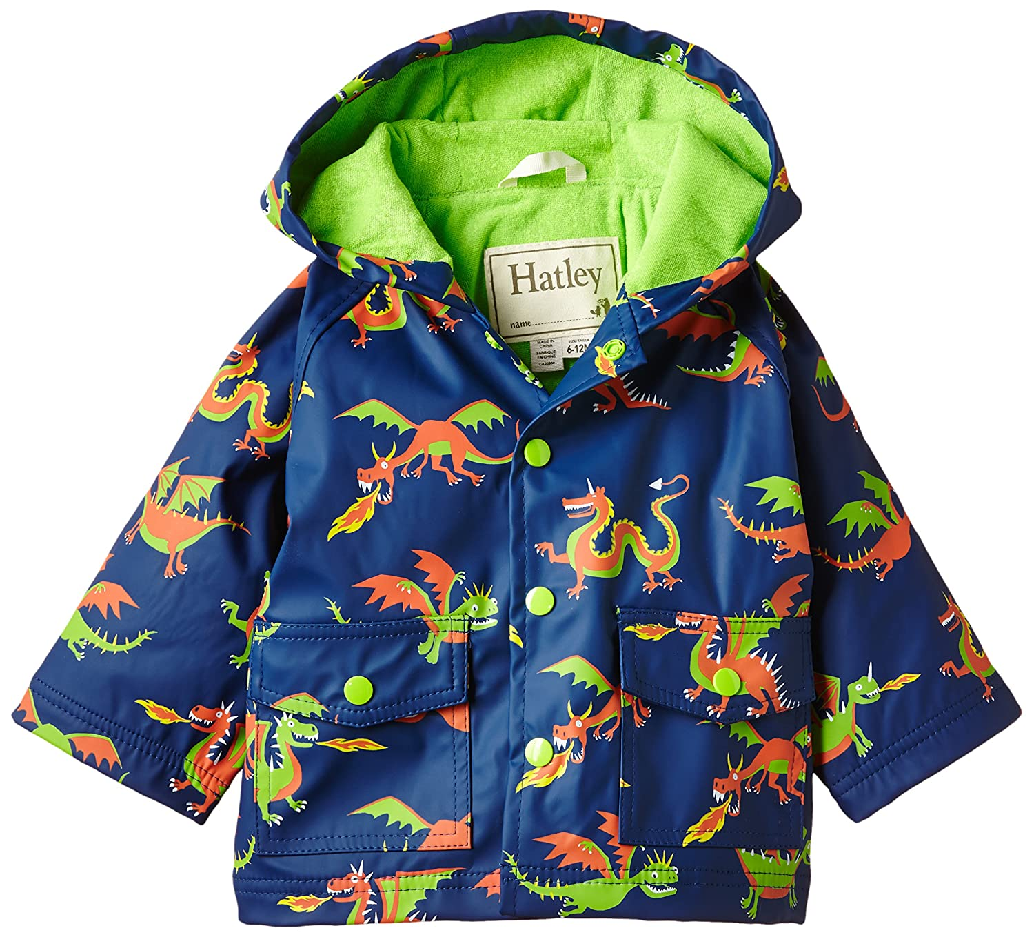 Hatley Baby Boys' Great White Sharks Infant Raincoats Hatley Children' s Apparel RC3OCSR026
