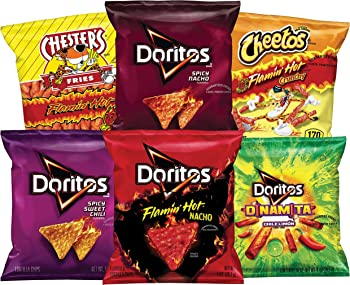 40-Count Frito-Lay Fiery Mix Variety Pack only $12 16