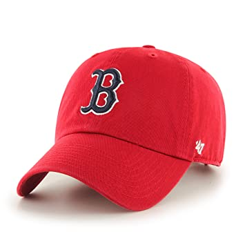 MLB Boston Red Sox Mens 47 Brand Batting Practice Clean Up Cap