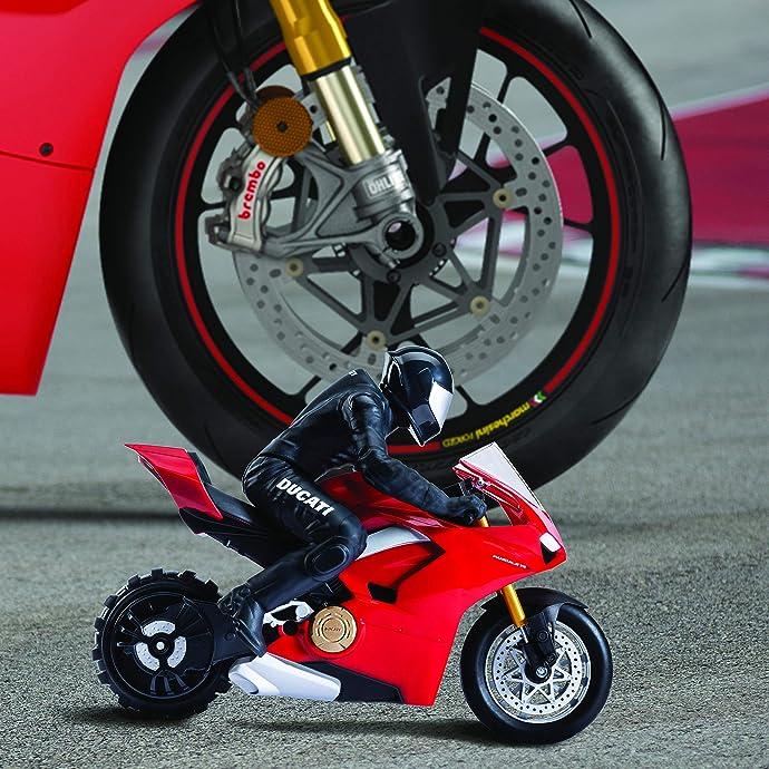 金盒特价 Upriser 杜卡迪 Panigale V4 S 1:6 自平衡遥控摩托车玩具 6.7折$99.99 海淘转运到手约¥850