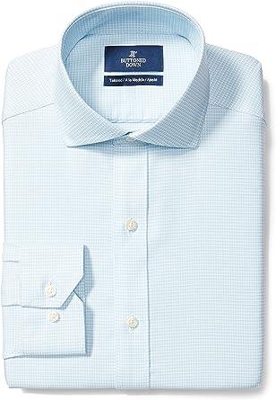 Marca Amazon - Buttoned Down Camisa Hombre: Amazon.es: Ropa y ...