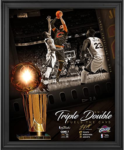 LeBron James Cleveland Cavaliers Framed 16\
