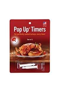HIC Harold Import Co. 220 HIC Pop-Up Timers for Turkey (Set of 2)