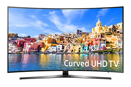 00adf5e0f Amazon.com  Samsung UN55KU7500 Curved 55-Inch 4K Ultra HD Smart LED ...