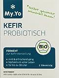 My.Yo Kefir Probiotisch, Kefirferment zur Kefirherstellung, 3 Beutel, Bio-Zertifiziert