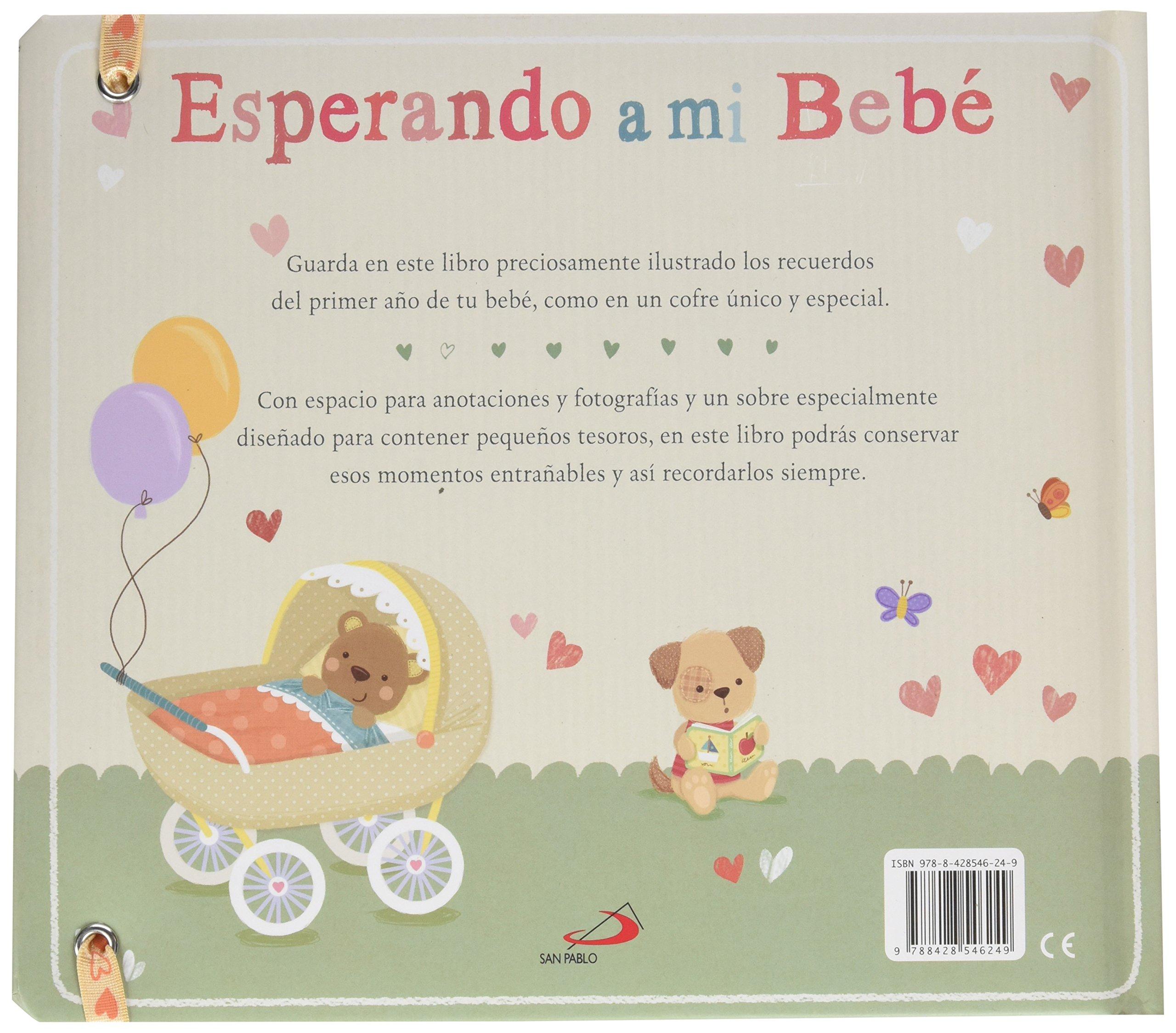 Esperando a mi bebé: Un libro de recuerdos Mi familia y yo ...