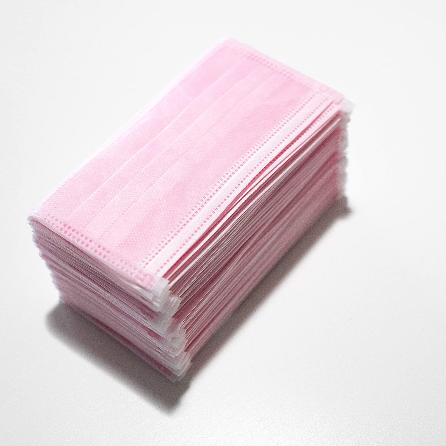disposable face mask pink