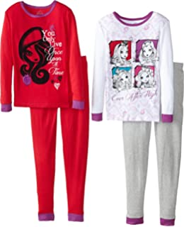 7//8 Ever After High Friends Forever Girls 2 Pc Pajama Set M
