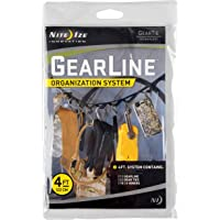 Nite Ize GLN4-M2-R8 4-Feet Gear Line Tactical, Assorted, 1-Pack