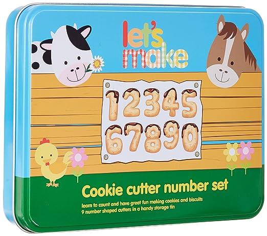 7 opinioni per Kitchen Craft Let's Make- Set di stampi per biscotti a forma di numeri