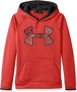 Under Armour UA Storm Armour Fleece Highlight Big Logo Hoodie Boys Size L 14//16