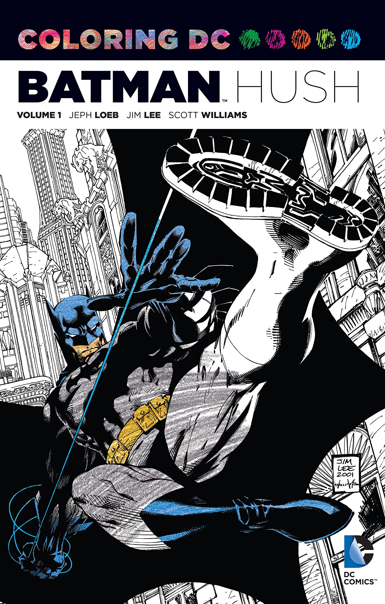 Coloring DC Batman Hush Vol Comics product image