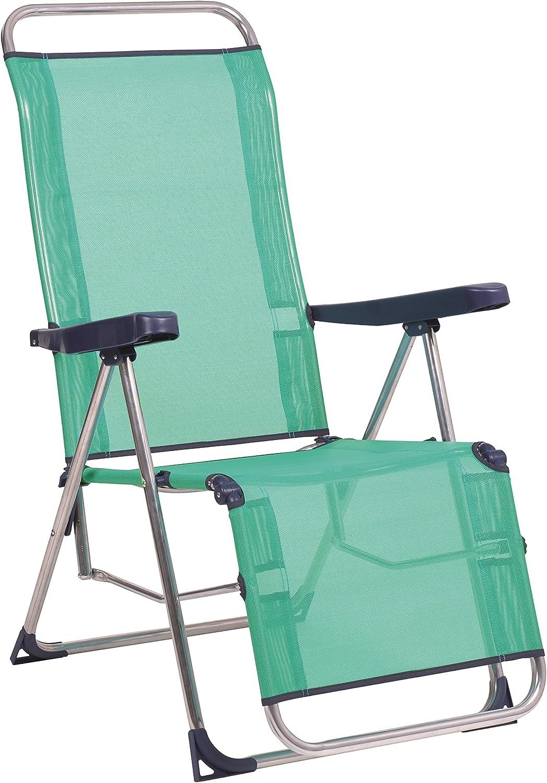 Alco-480ALF-0030 Relax fibreline, Pata Cerrada, Color Azul Verdoso, 103x65x14 cm (1-480AZ)
