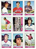Cleveland Indians 1979 Topps Baseball Team Set