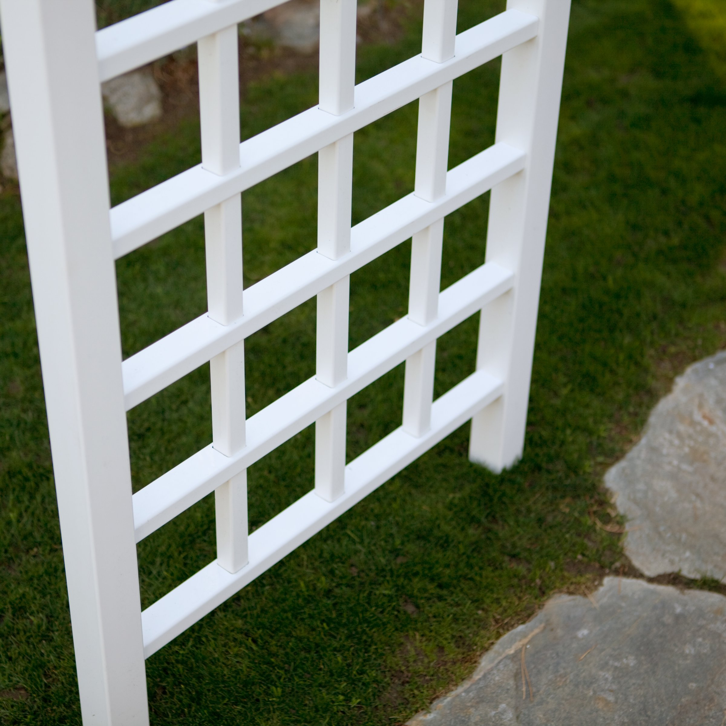 Pergola Arbors Ideal for Garden a Wedding Entry-way or Indoor Weddings. This Decorative Weather Resistant Pergola Kit Will Enhance Any Garden Setting with the Trellis for Plants and Visual Appeal. The Missing Piece to Create an Enchanting Oasis.