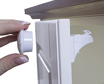 Self-adhesive Installation Child Safety Cabinet Locks No Drilling No Screw Locks Door Drawer Baby Security Protection Firm In Structure Hasps & Locks