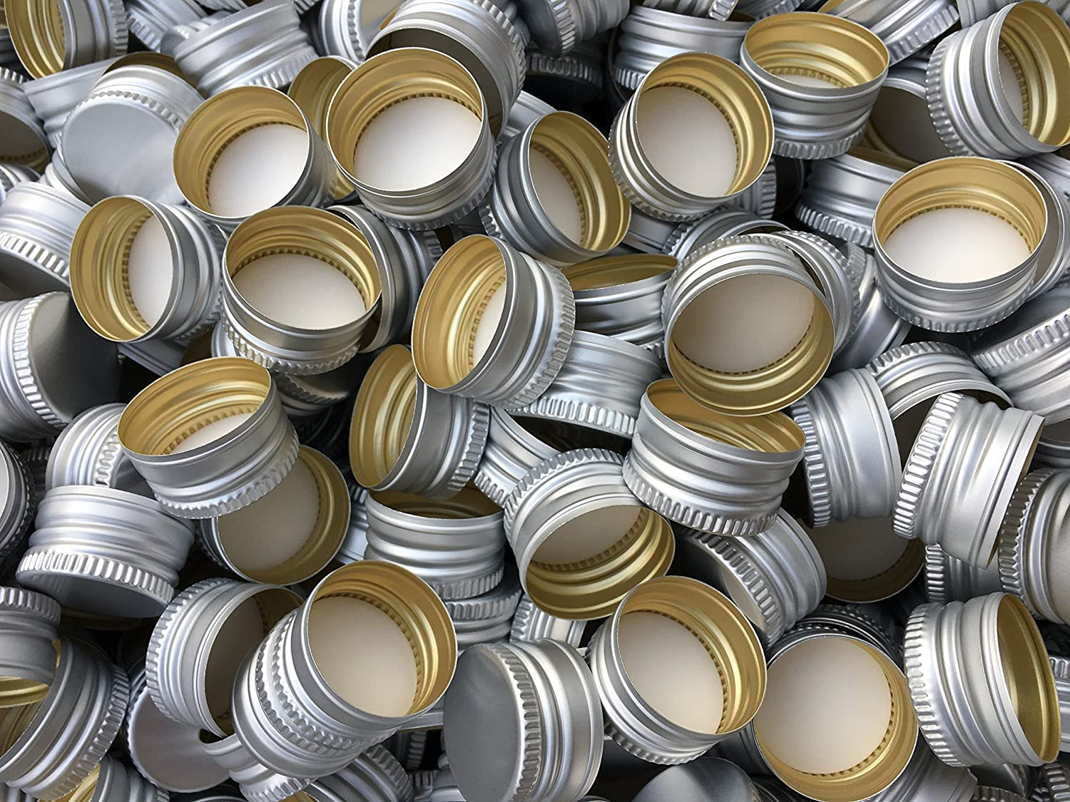 15,25,50,75 or 100 piece PP28 Replacement Screw Cap Bottle caps closures PP28 for most of all bottle shapes Slkfactory (15 piece) SLK GmbH