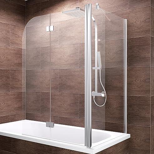 duschabtrennung badewanne mit seitenwand. Black Bedroom Furniture Sets. Home Design Ideas