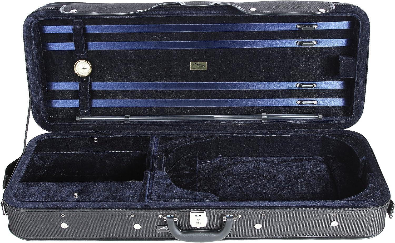 Estuche para Viola espuma color azul marino M-Case: Amazon.es: Instrumentos musicales