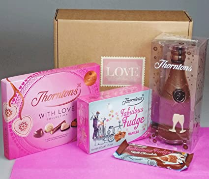 Thorntons Love Collection - Valentine's Day Gift - NEW for 2108 - Thorntons Fudge, Chocolate