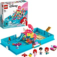 LEGO Disney Princess 43176 Ariel's Storybook Adventures Building Kit (105 Pieces)