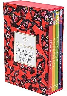 7d7f42c8c0ec Vera Bradley Coloring Collection (Design Originals) 4 Book Set with  Slipcase includes Beautiful
