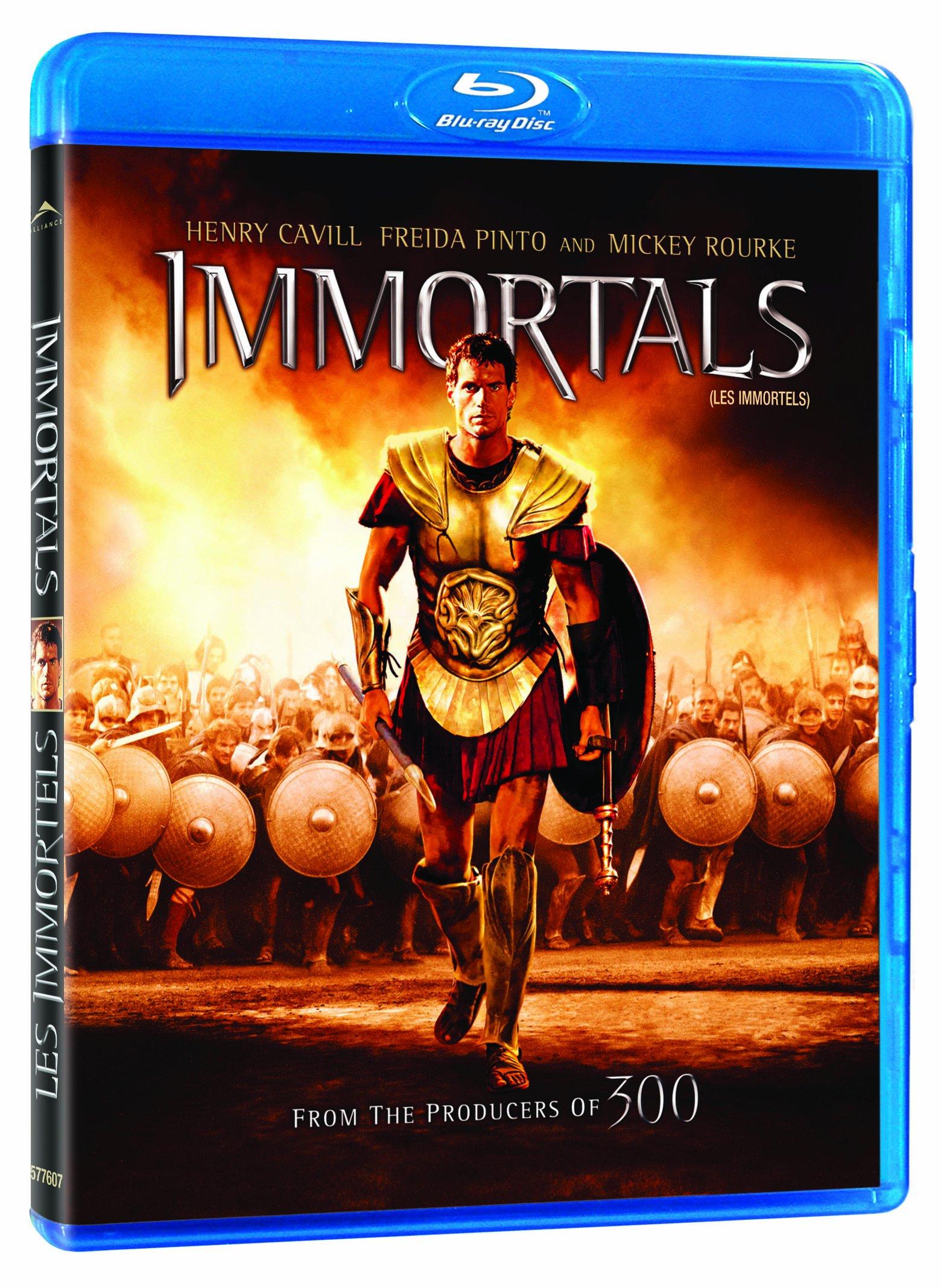 Blu-ray : Immortals / Les Immortels
