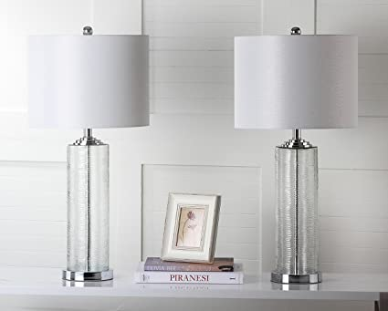 Amazon safavieh lighting collection grant clear 29 inch table safavieh lighting collection grant clear 29 inch table lamp set of 2 aloadofball Choice Image