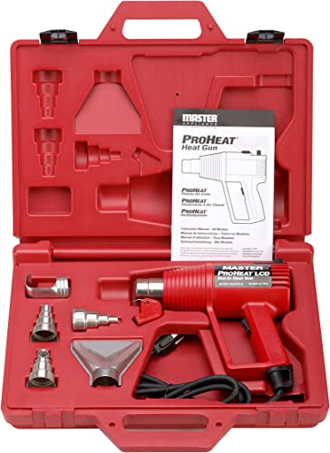 Heat Gun Kit, 130 to 1000F, 11A, 16 cfm
